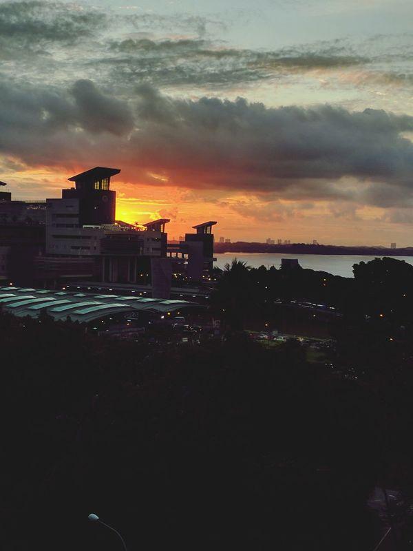 Sunset Nature Checkpoint Singapore