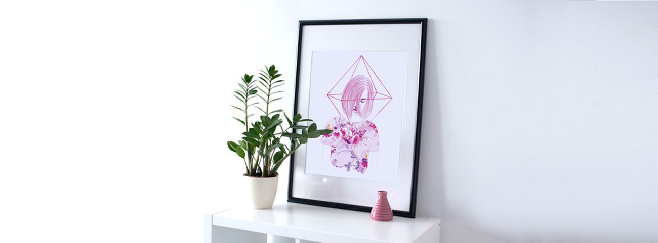 DEMORIE ART Art Gallery Decoration Design Illustration Printing Gallery Girl ArtWork Drawing Women Creative Beauty Only Women Painting Artgallery White Background Watercolor My Artwork Creativity Stamps Drawings Artist Digital Art Photoshop Portrait