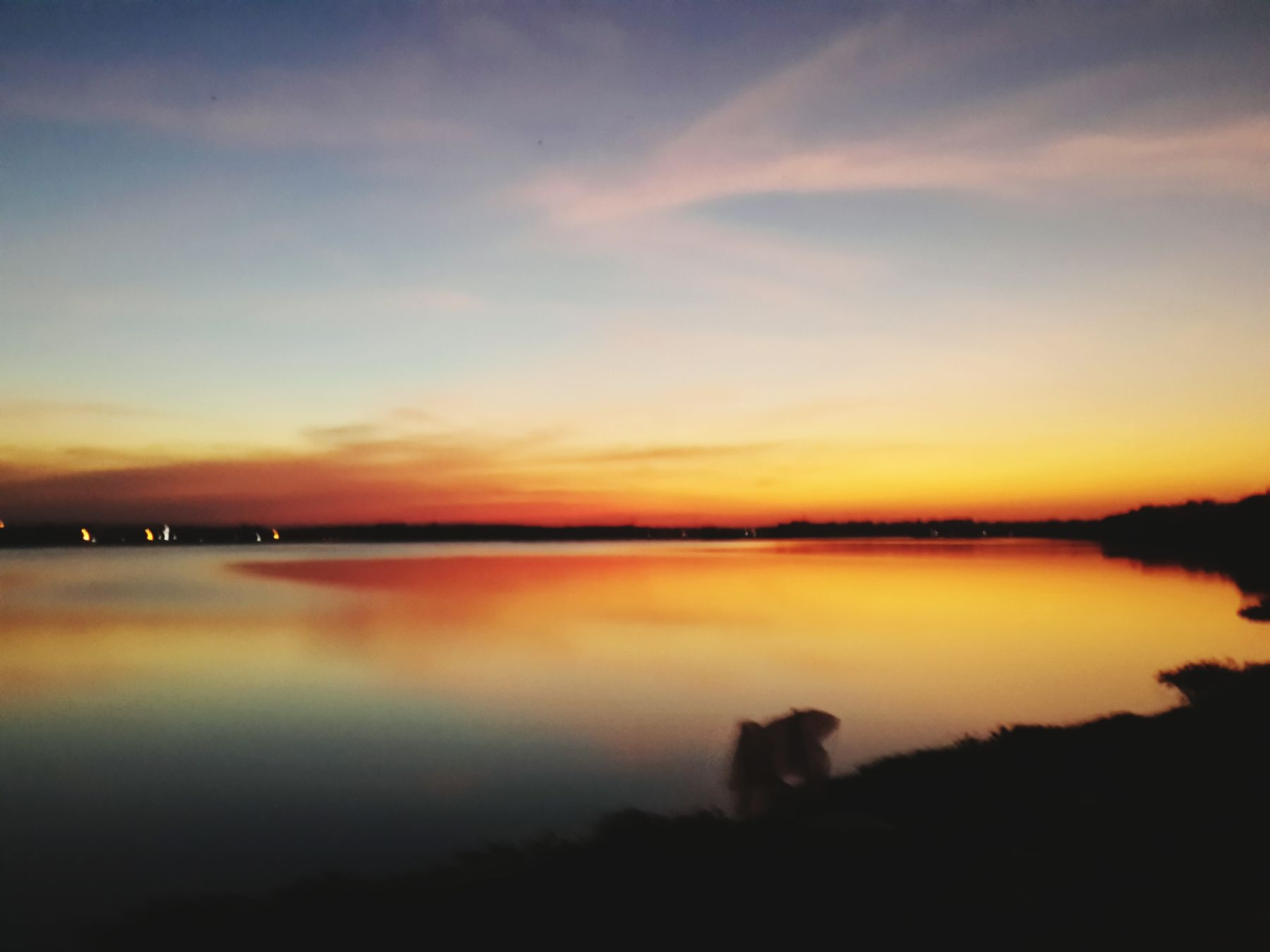 Sunset #sun #clouds #skylovers #sky #nature #beautifulinnature #naturalbeauty #photography #landscape Lovely Weather Beautiful Day Reflection Water Reflections Lake View Peace And Quiet EyeEm Nature Lover Sunset Clouds And Sky