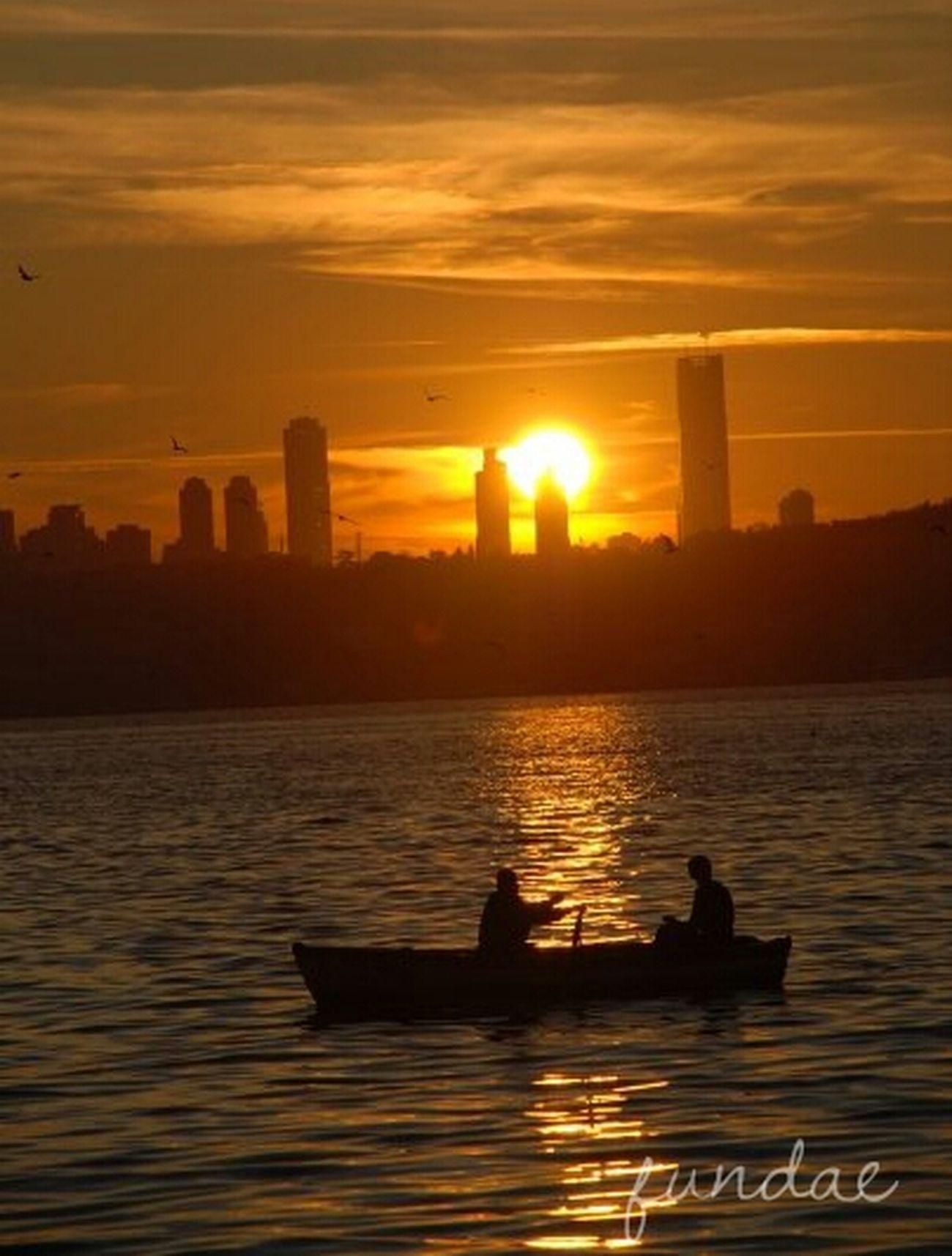 Sunset Bosphorus Sunset Istanbullovers Istanbul - Bosphorus
