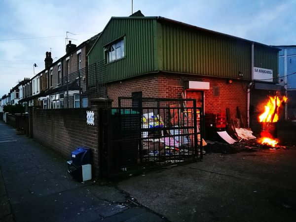 What people do with their rubbish outside centre of London?.... Southall, London, March 2017Sky Dusk Built Structure Architecture Building Exterior Outdoors City No People Illuminated Day Huawai P9 LONDON❤ London Walking Around Walking Around Taking Pictures Huawei P9 Leica Fire And Flames Fire ! Diversity Rubbish In The Merchant City Rubbish Bins Rubbish, Waste, Recycling, Rubbish... Long Goodbye The Secret Spaces