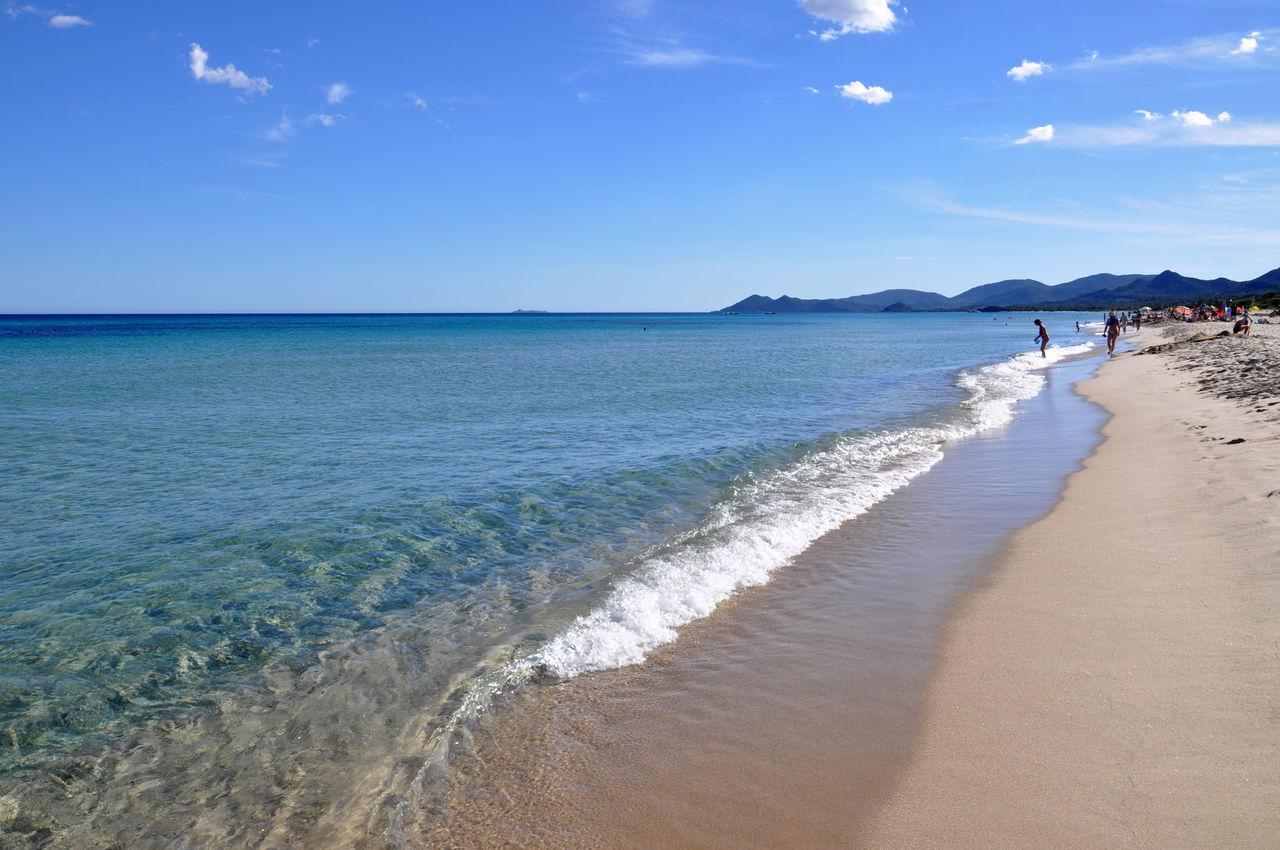 Scenic View Of Mediterranean Sea Against Sky