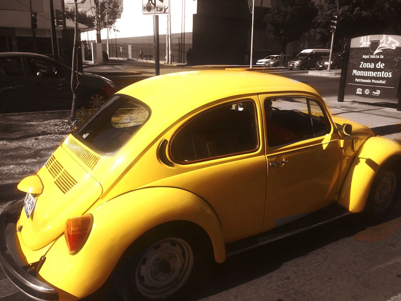 Volkswagen Volkswagen Beetle Yellow Car Cars Vehicle Classic Car Classic Cars Land Vehicle Transportation Mexico Puebla Puebla De Zaragoza Vocho Vochomania Eye4photography  EyeEm Gallery EyeEm Best Shots