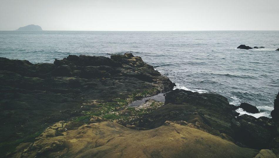 Enjoying Life Ocean Relaxing 艸木森森 Taking Photos 八斗子 基隆 海 海,愛祢的沉靜及神秘。