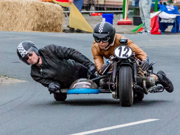 Motorbike Side Carriage Fun Racing Real People Sidecar Sports Photography Streetrace Togetherness