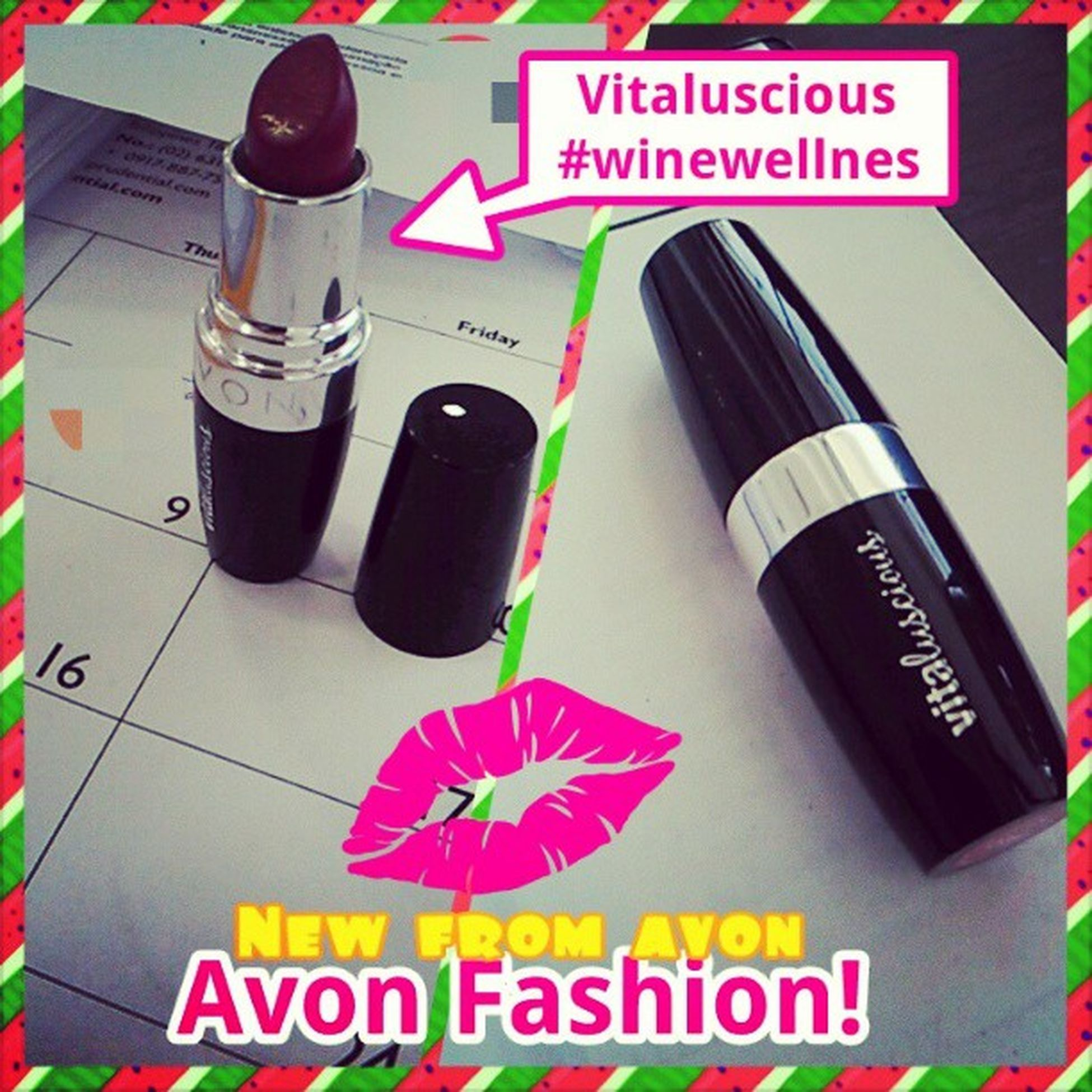 New from Avonfashion Avon Vitaluscious Lipstick winwellness