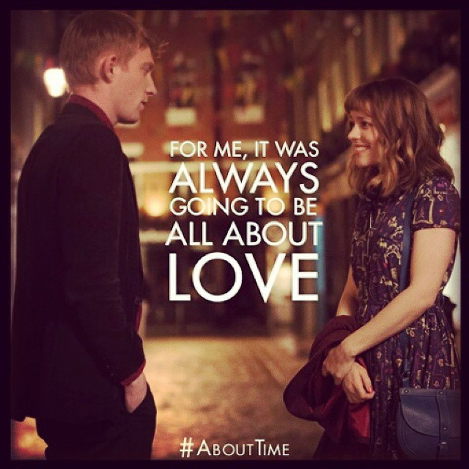 End or start... All about the right time... Still make me move... AboutTime Aboutlove