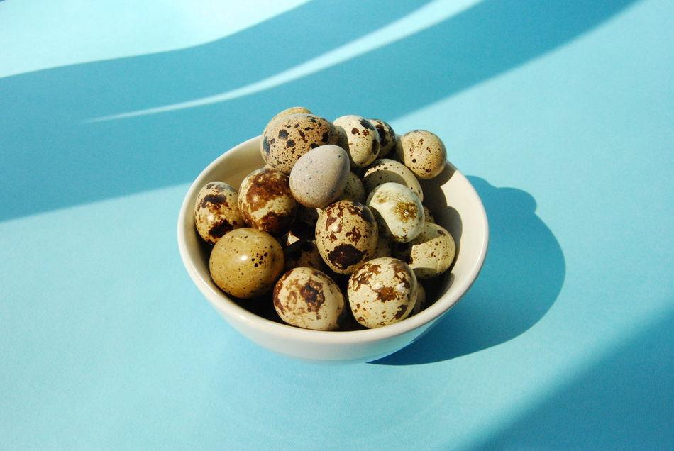 Beautiful stock photos of easter, Abundance, Animal Egg, Blue Background, Bowl