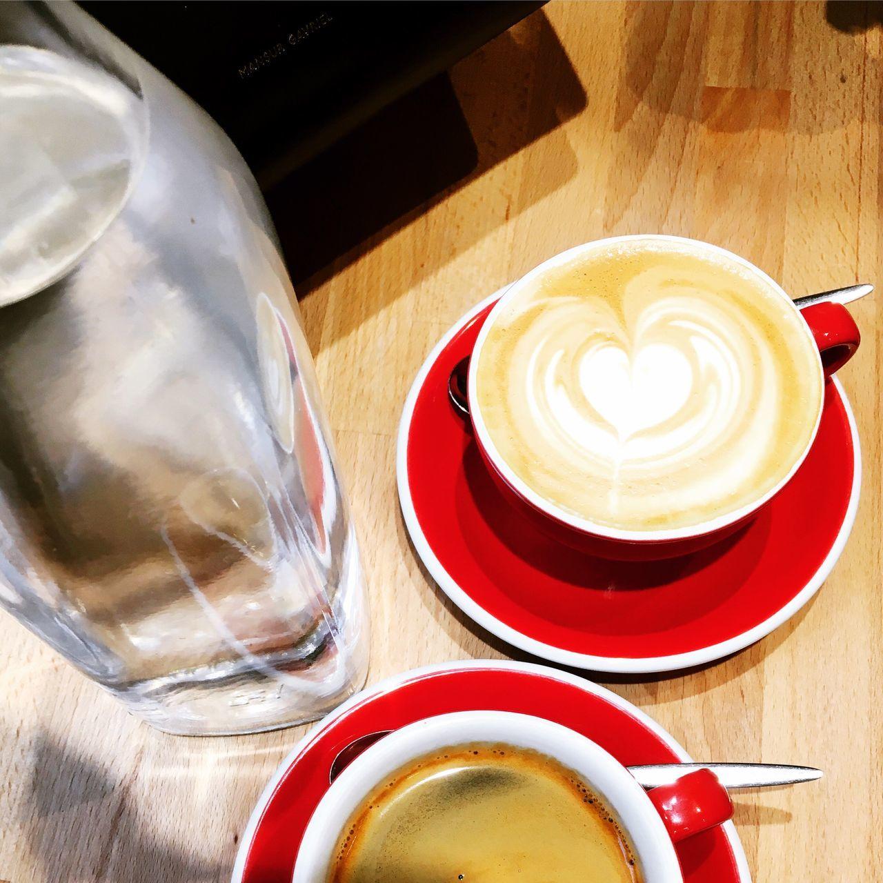 Americano and Flat white Flat White Coffee Break Cafe Americano