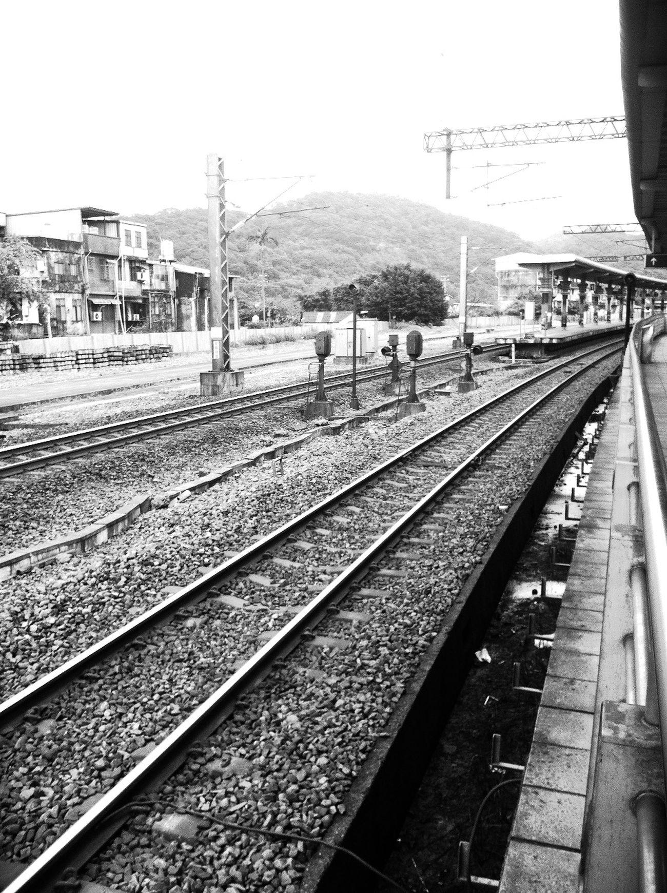 Visiting at 八堵火車站 Badu Railway Station Visiting