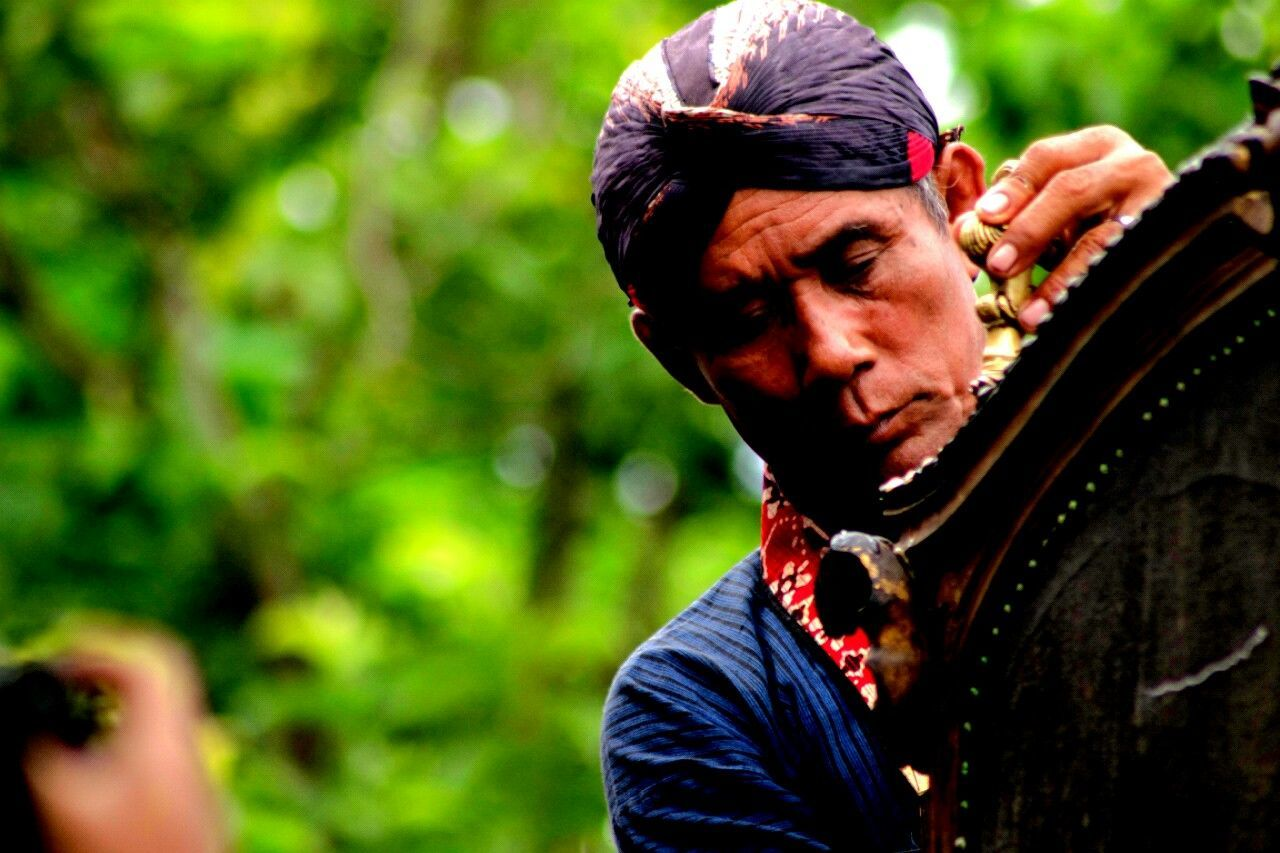 Connected By Travel Javanese Culture Yogyakarta Abdidalem Close-up Culture Day Focus On Foreground Headshot Kraton Jogja Nature One Man Only One Person Outdoors People Real People First Eyeem Photo