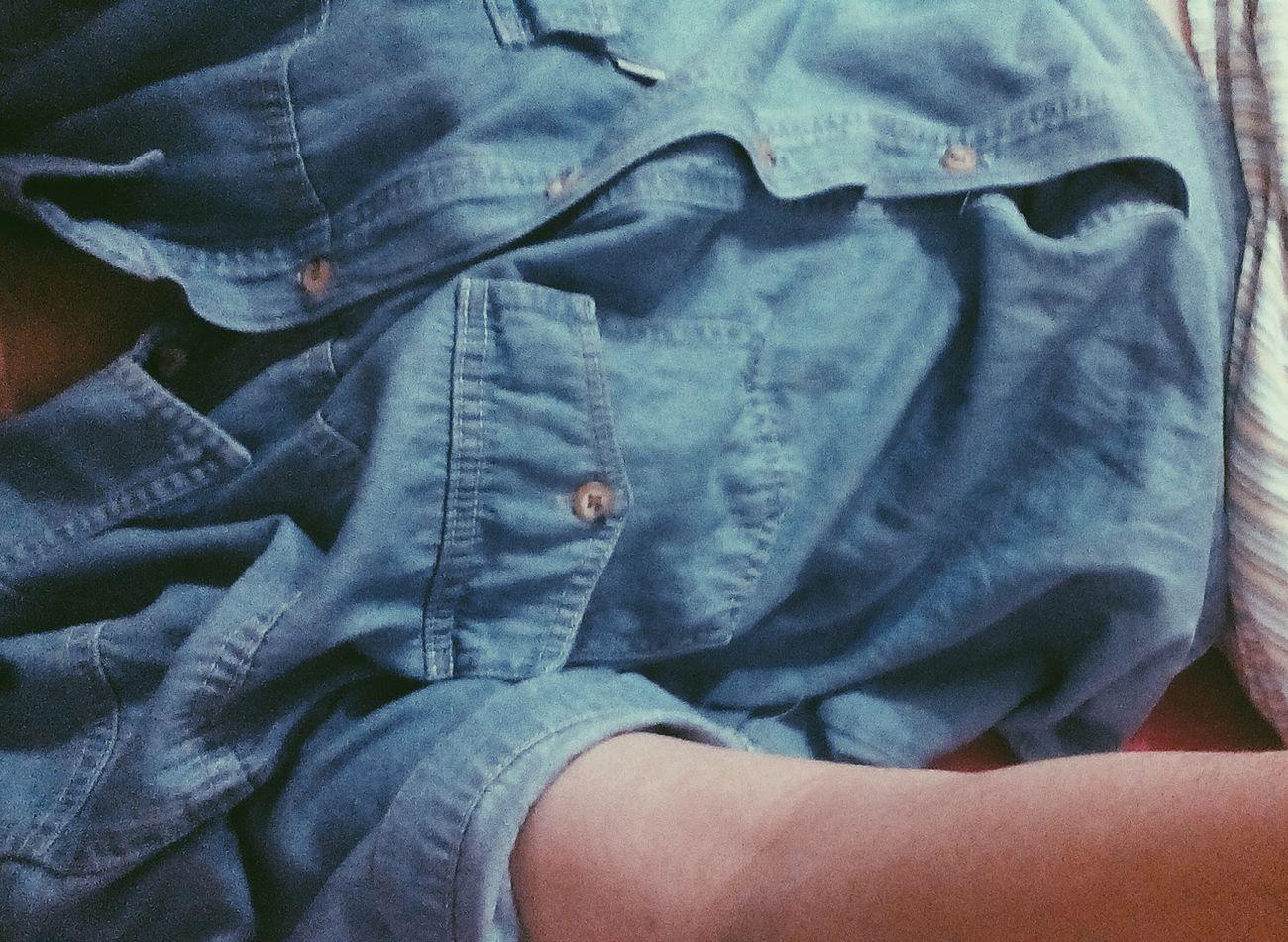 Coat Jean Shirt Blue Jean