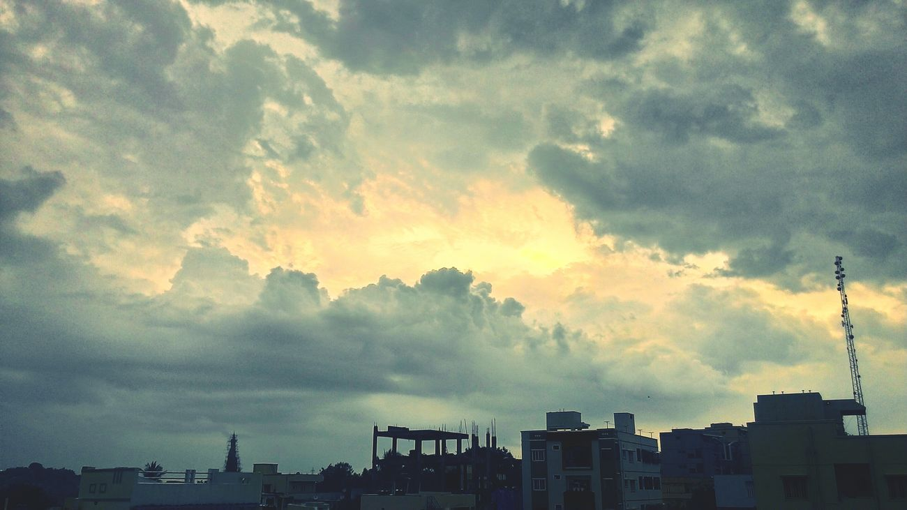 Cloudporn Skywithclouds Cloudy Skies Eyeemfilter Evening Sky Cityscapes Urban Landscape