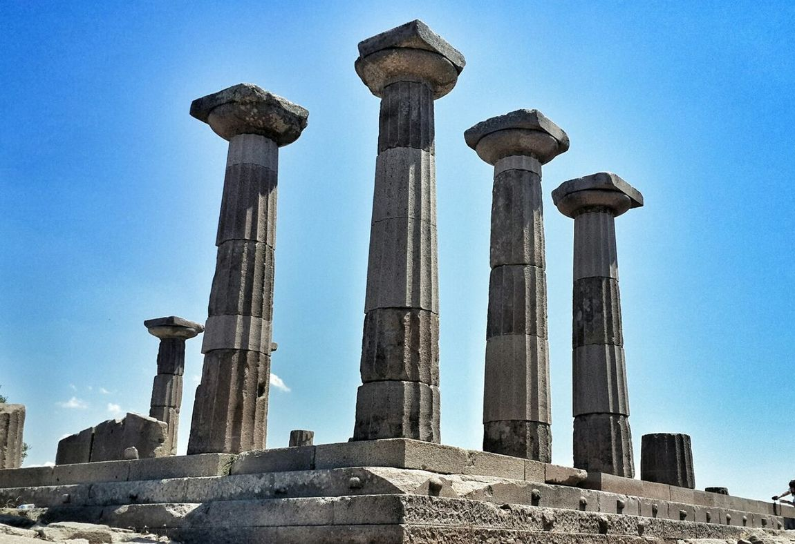 çanakkale Assos Assosturkey Assos Çanakkale-Turkiye Vscocamturkey Likeforlike EyeEm Tarihimekan Tarihiyerler