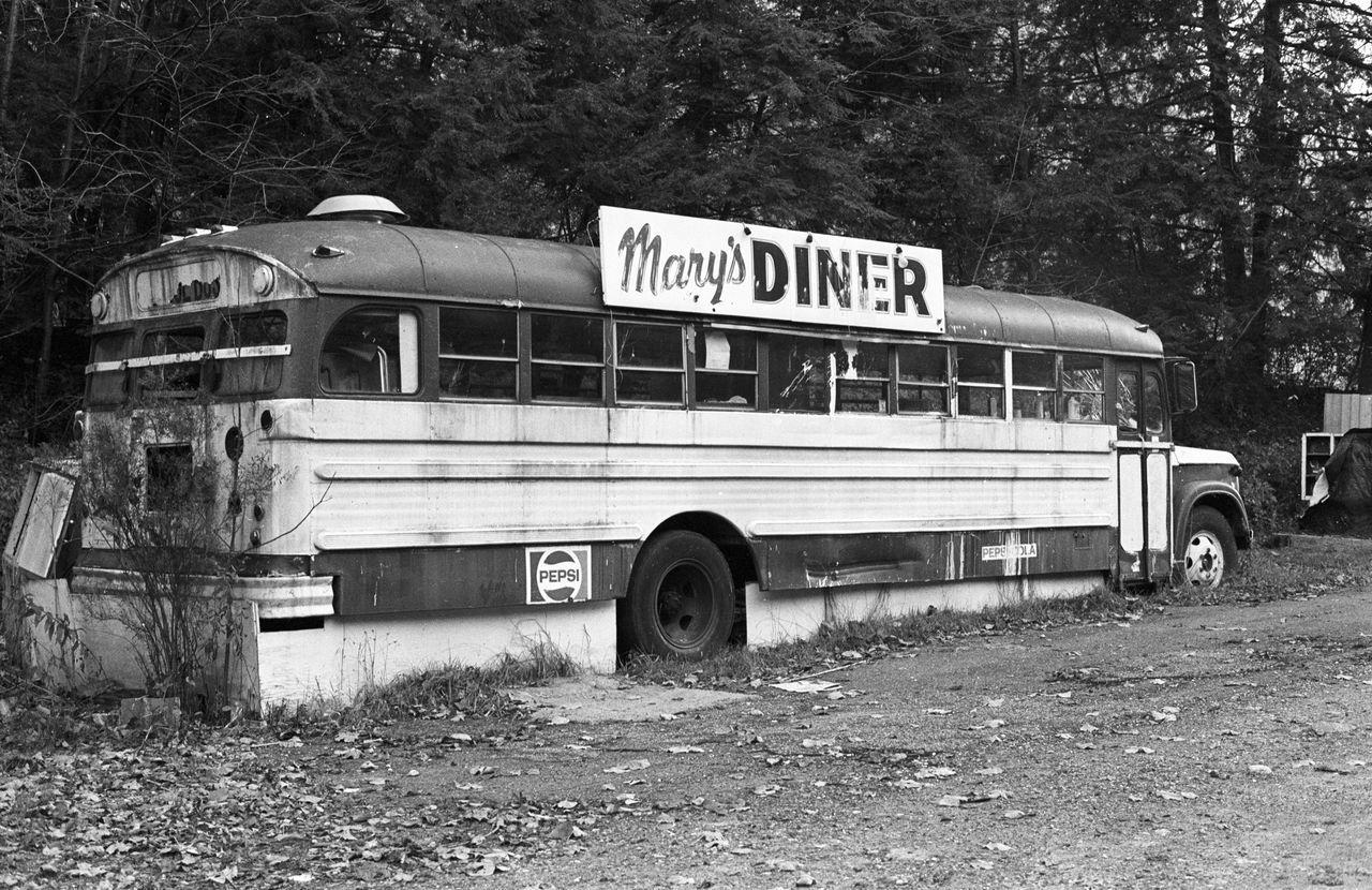The Diner Direction Empty Foodphotography Information Land Vehicle Mode Of Transport Public Transport Restaurant Sign Transportation