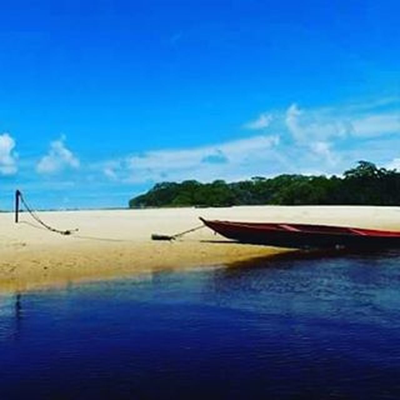 Rio Niquim - Alagoas - Brasil Sea Water Beach Sky Blue Reflection Cloud - Sky Nature Vacations Nautical Vessel Outdoors Tranquil Scene Travel Destinations Scenics Summer Tranquility No People Beauty In Nature Landscape Horizon Over Water
