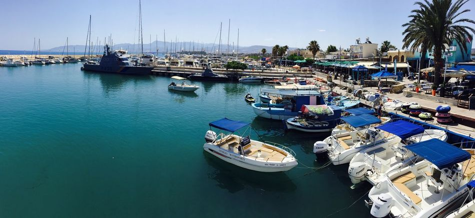 Latsi Harbour, Cyprus Boats⛵️ Marine Yatch Marine Yatchclub Elite Club Sailing Sky And Sea Harbour Harbour View Europe Cyprus Eyem Gallery Sea Life Eyem Collection Boats Marine Life Millionaire_lifestyle Sailing Away Blue Sky White Clouds EyeEm Gallery