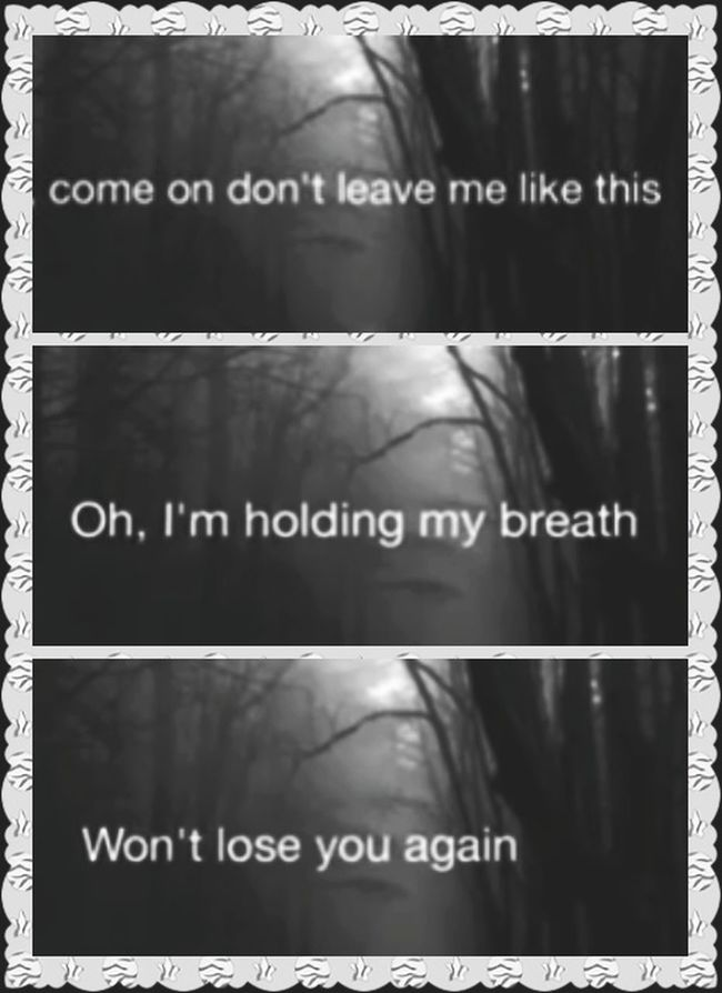 Come On! COME ON  Don`t Leave Me Like This I`m Holding My Breaf You Are  All I want