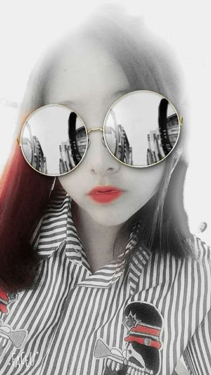 Sunglasses Young Women Red Only Women One Woman Only My Loves❤