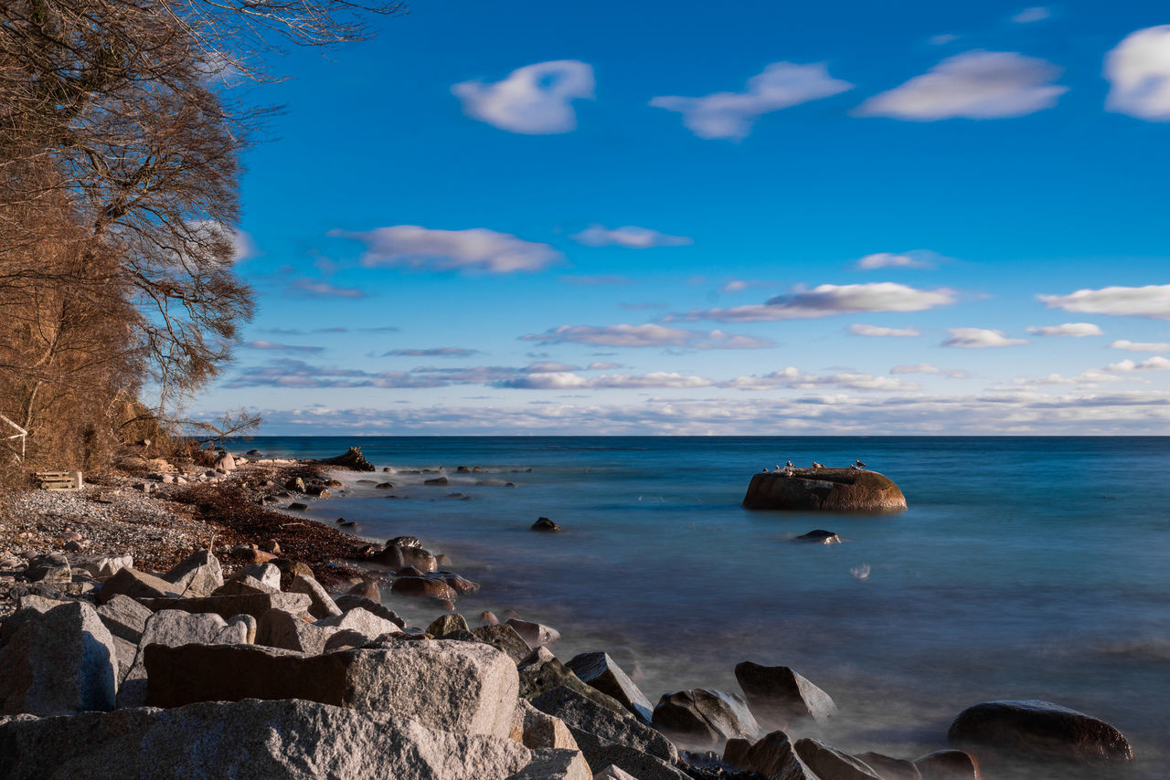 Beach Beauty In Nature Cloud - Sky Day Horizon Over Water LongTime  Longtimeexposure Nature No People Outdoors Scenics Sea Sky Vacations Wave