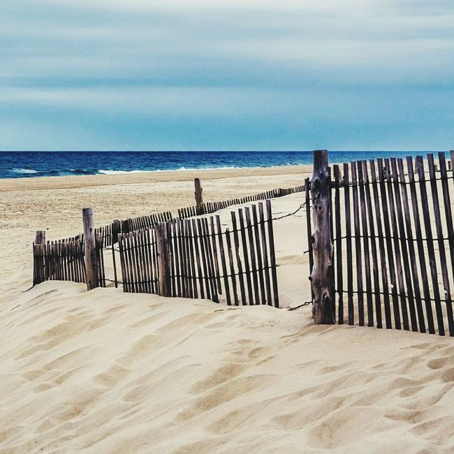 Beach Sand Sea Horizon Over Water Outdoors Tranquility Nature Water No People Day Sky EyeEmNewHere Minimalobsession Nature Backgrounds Deleware FenwickIsland