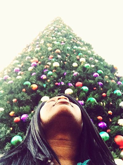 A little early Christmas Time cheer. Taking Photos Enjoying Life That's Me Christmas Tree Hello World Selfie ✌ Selfportrait