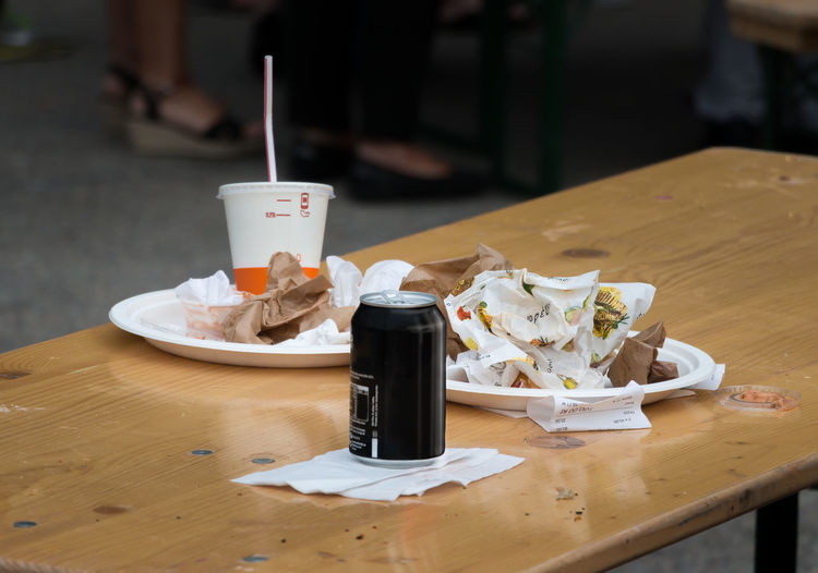 Street food outdoors at Stockholm Street Festival July 1, 2017 Fast Food Food And Drink Indulgence Leftovers Napkin No People Outdoors Ready-to-eat Street Food Unhealthy Eating