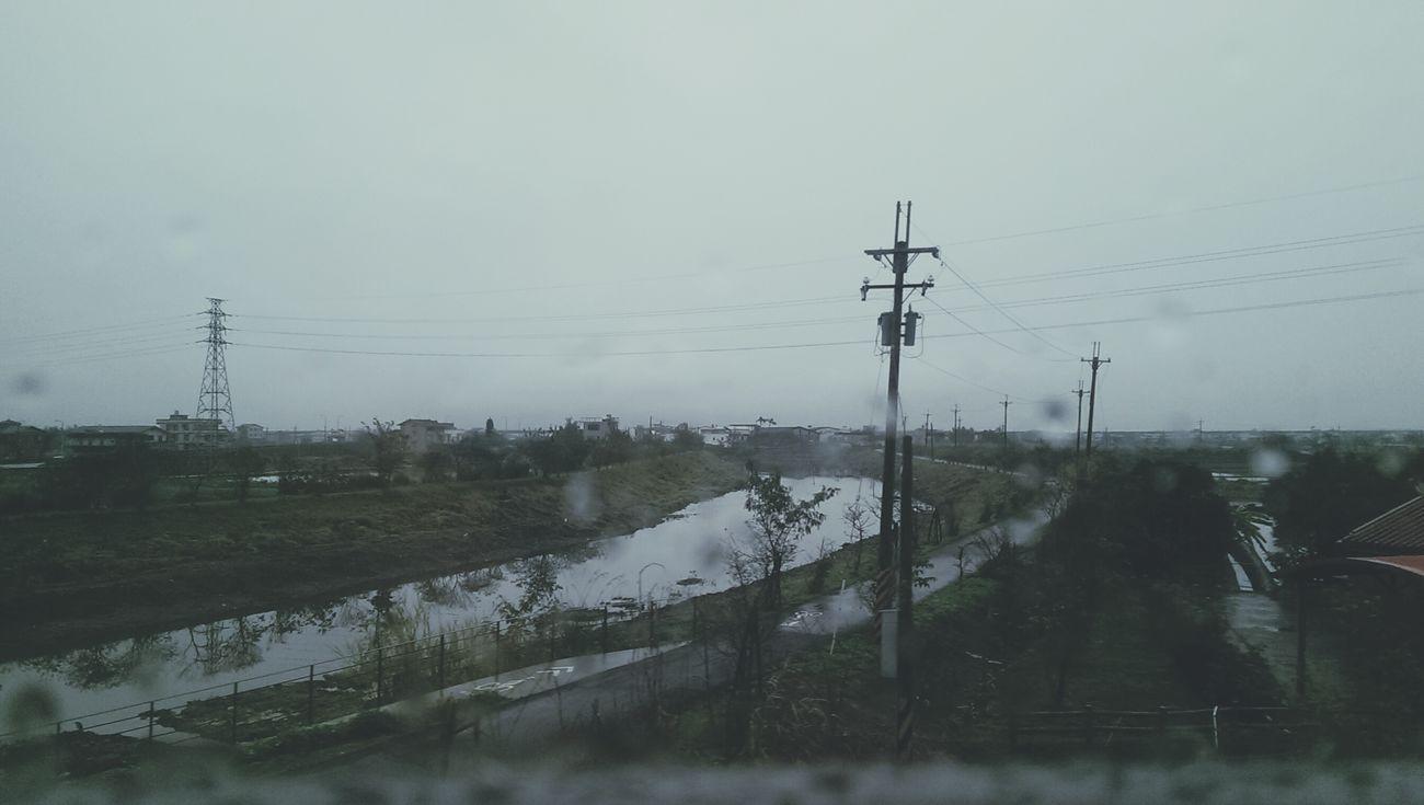 每次我看著夜空都會覺得有點笨,他已經跟著別的星球離開了。 Rainy Days Yilan, Taiwan 艸木森森 Blue Mood Rainy Everyday