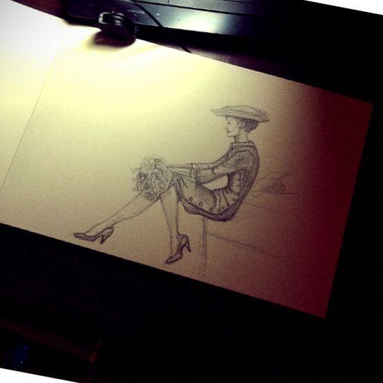 Что не успела...Остатки;)рисунок рисую иллюстрация мода рисуноккарандашом черно-белое зарисовка набросок скейтч карандаш art myart myartwork drawing pencil sketch sketchaday instagramart illustration