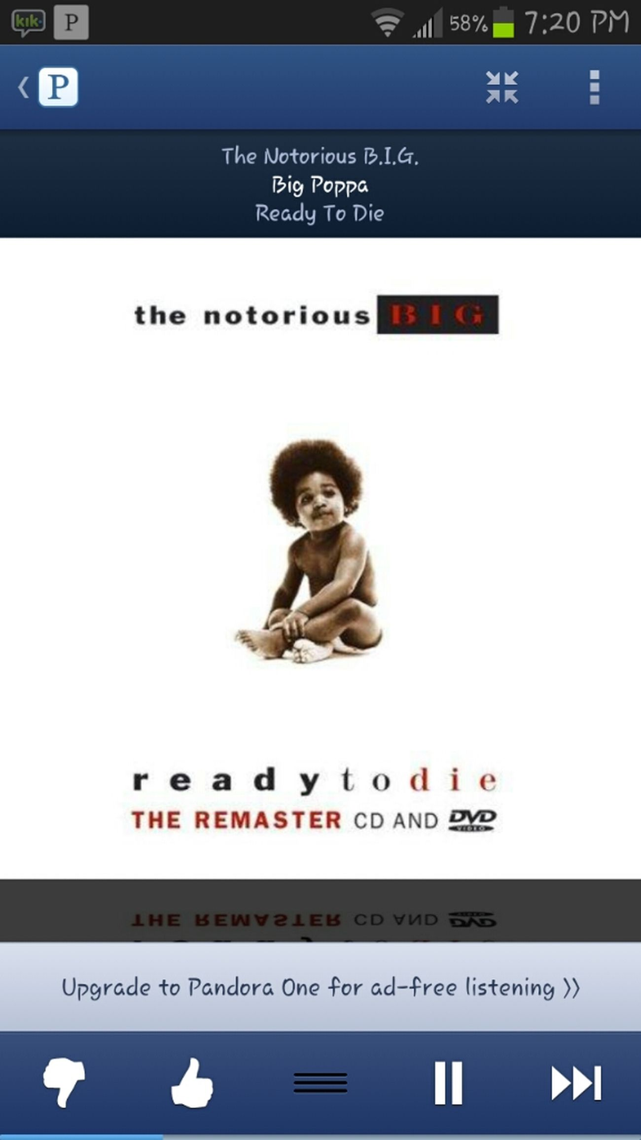 pandora AINT PLAYING TODAY !! BIGGIE ♡ - Call me big poppa ♥