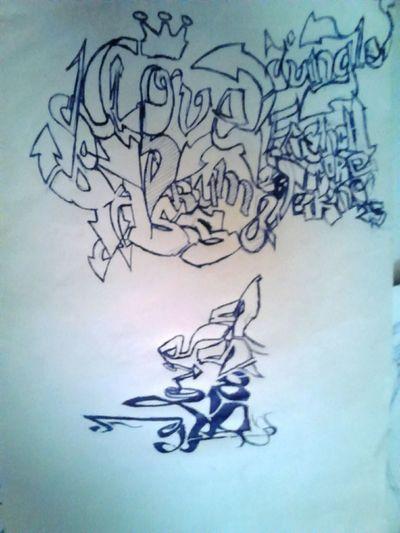 Drumandbass Drawing Mywork