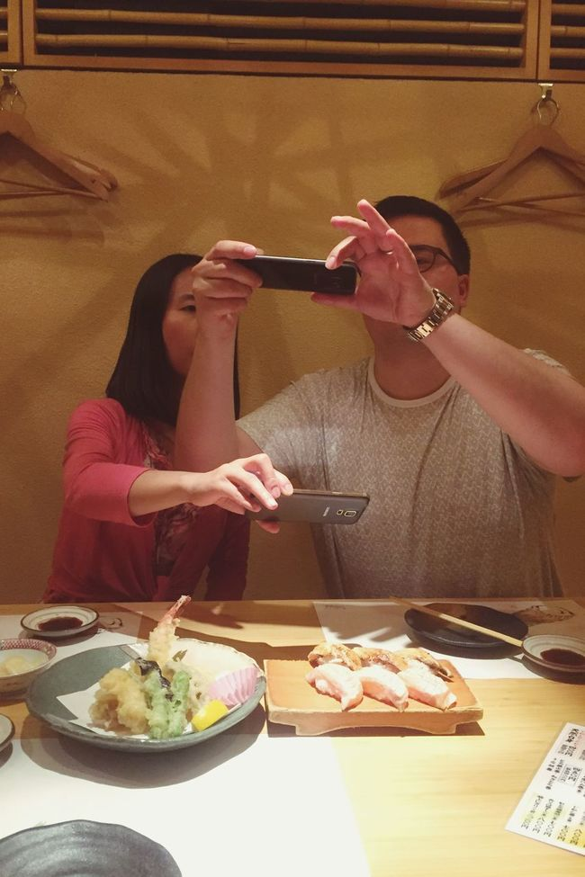 GreatNight  with Greatfriends  SushiDinner Welcome to Japan