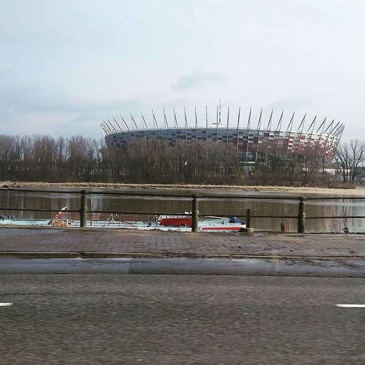 Warszawa  Stadion Stadionnarodowy Kibicujemy Piłka Nożna Narodowy Stolica