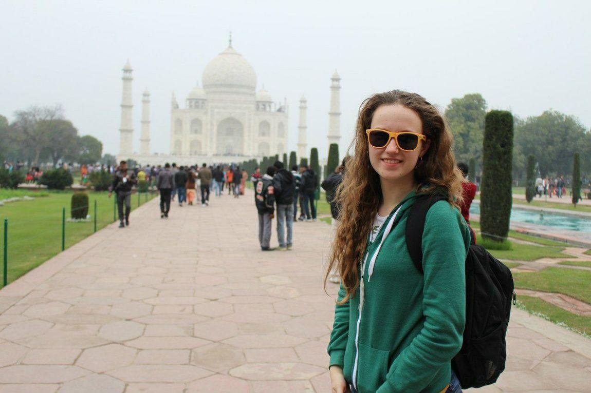 India Internship Taj Mahal Agra