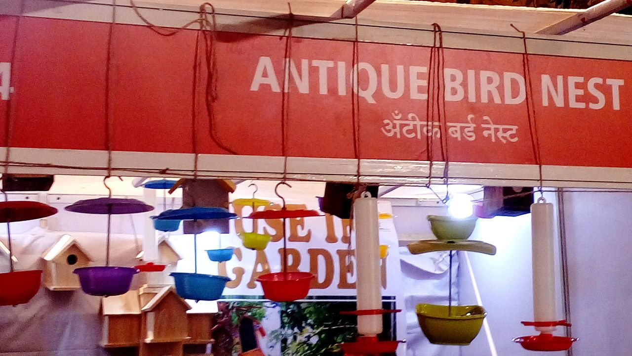 Multi Colored Hanging Variation Text Choice No People Market Stall Outdoors Market Architecture Kalaghoda🐴 Kalaghodaartfestival Famous Tourist Attractions Indian Culture  Illuminated Lighting Decoration