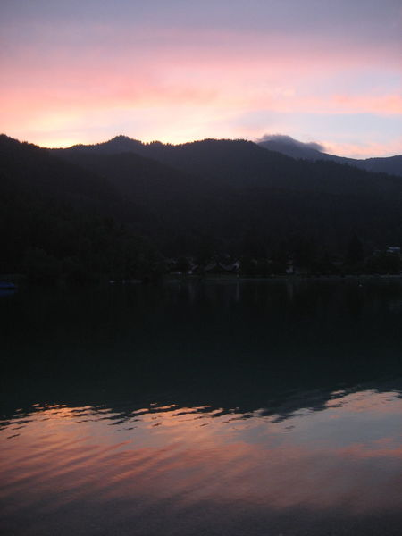 Windstill Beauty In Nature Cloud - Sky Day Evening Idyllic Lake Landscape Mountain Mountain Range Nature No People Outdoors Reflection Scenics Silhouette Sky Sunset Tranquil Scene Tranquility Tree Walchensee Water Waterfront