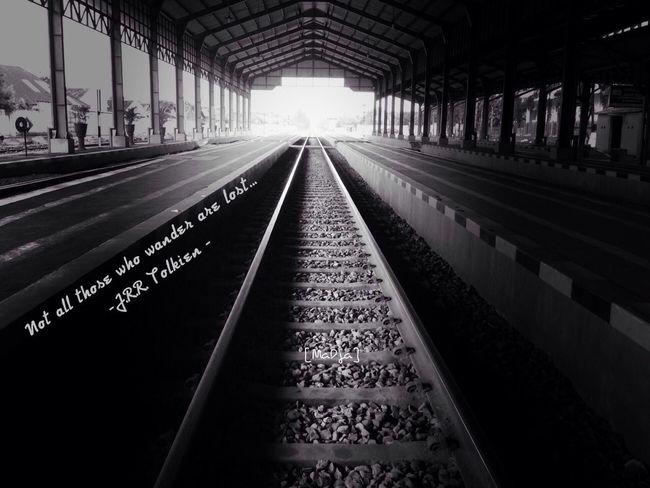 Blackandwhite Train Black And White