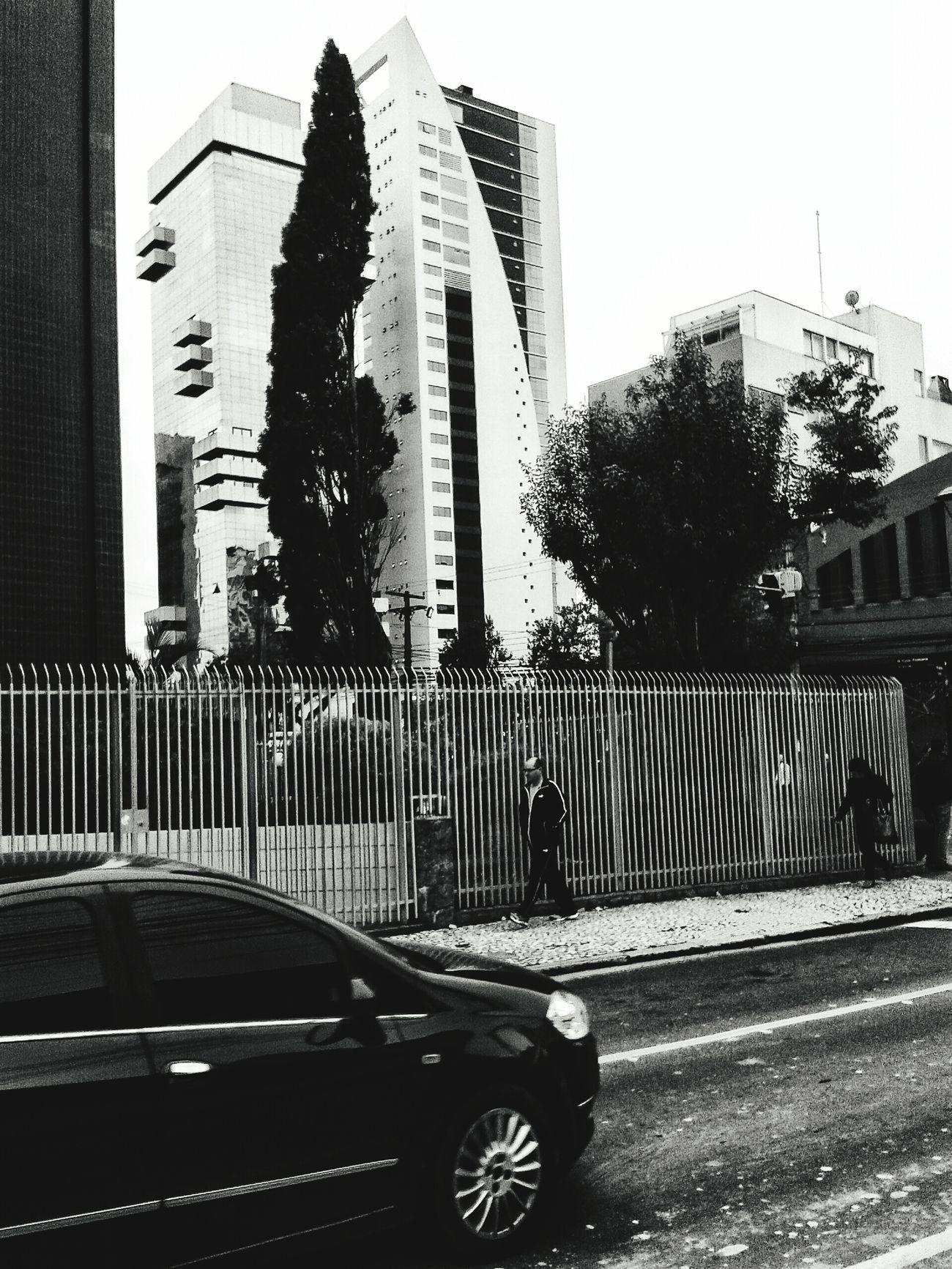 Blackandwhite Curitiba, Brazil Buildings Passed