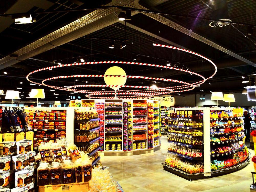 EDEKA Supermarkt Edeka For Sale Indoors  Market Shop Supermarché Supermarket Supermercado