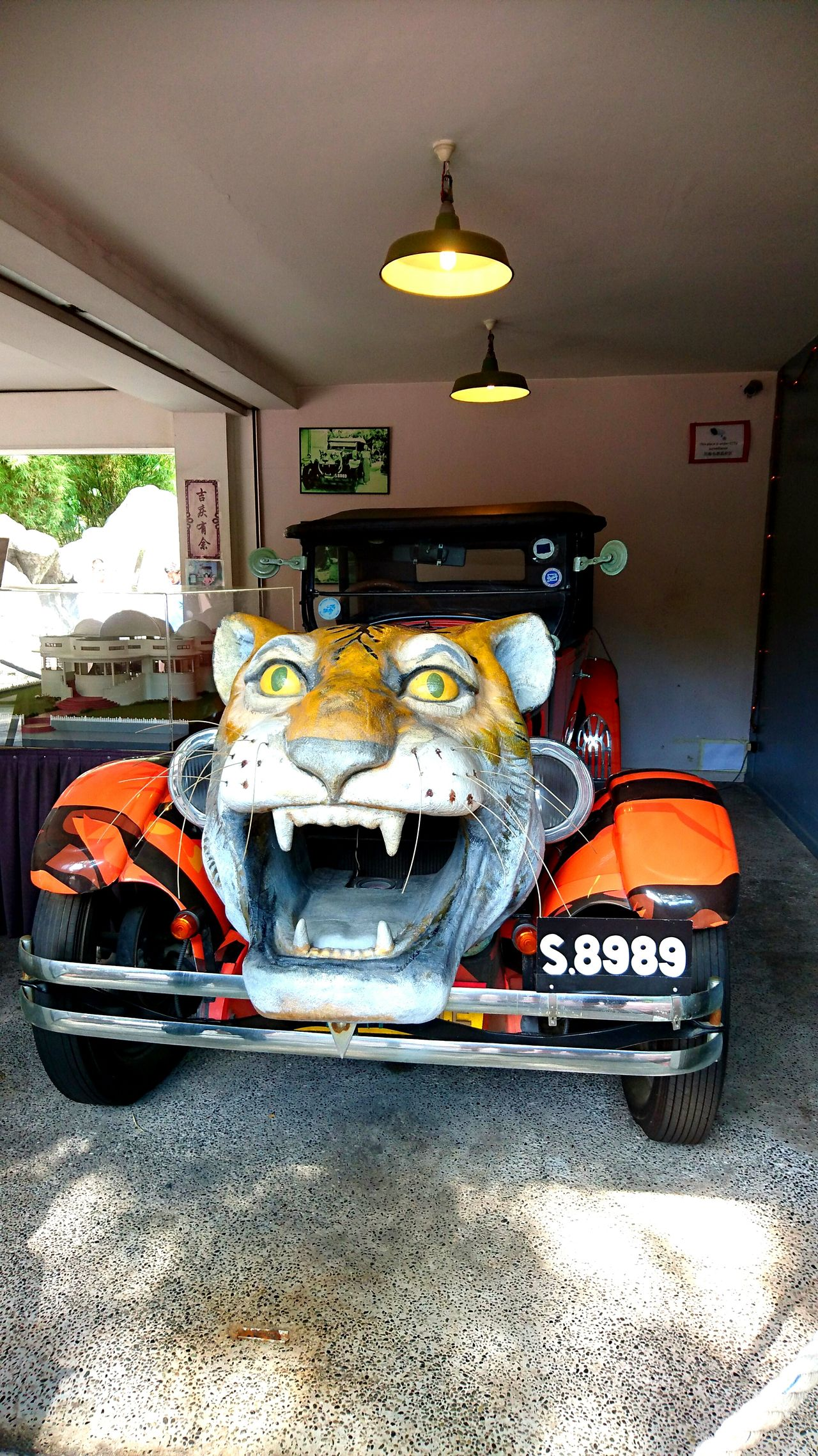 Hawparvilla Singapore Tiger Vintage Cars