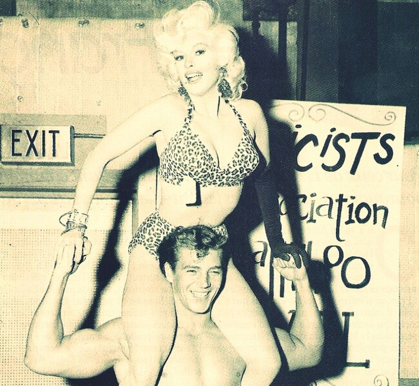 Love Jayne Mansfield. Vintage Nothing But Smiles! Check This Out Leopard Print