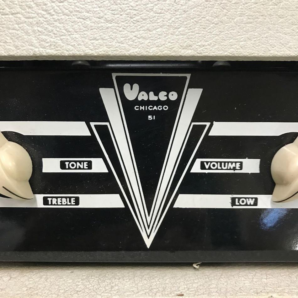 Lieblingsteil Vintage VALCO Oahu Chicago Tube Amp Tubeamp Guitar IPhoneography Iphoneonly