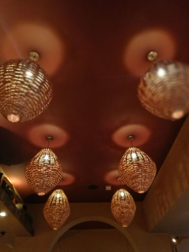 Lights Lighting Six Orange Glow Lightshade Lightshow Basket Ambience