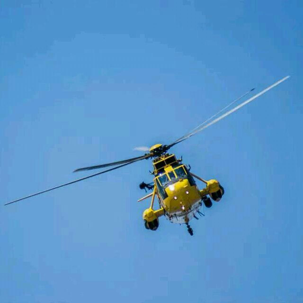 Another shot from the air show. Somerset Royalairforce Air Show Helicopter