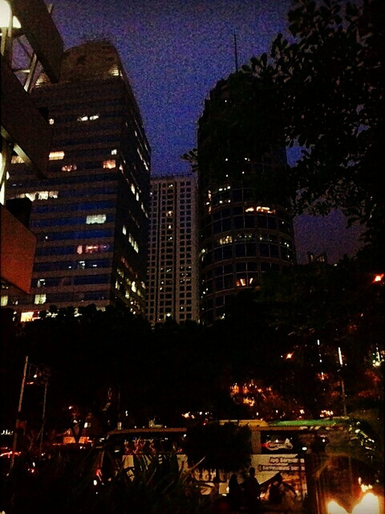 JakartaStreet Nightphotography Hello World Asuszenfone