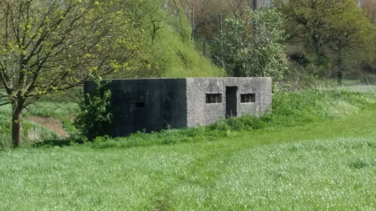 PILLBOX Military Structure Architecture WWII
