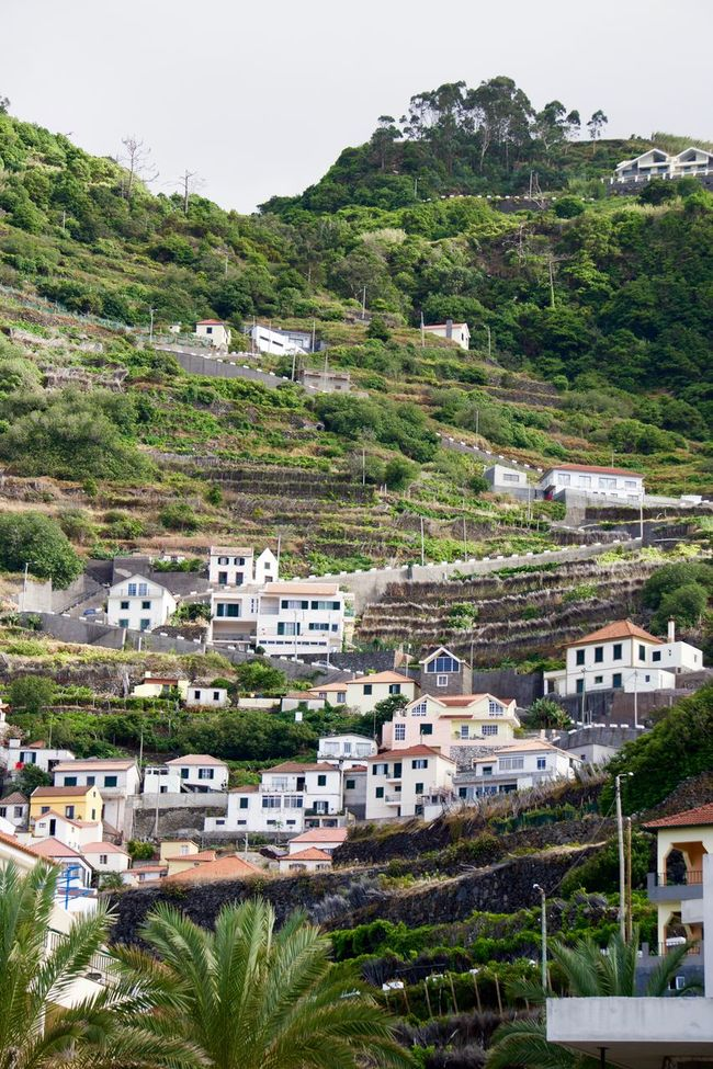 Day Madeira Nature No People Outdoors Sky Steep Hill Village
