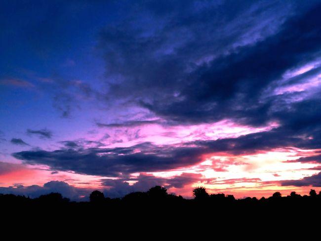 Evening Sky Evening Sunset Creative Light Landscape #Nature #photography Coloursplash Colour & Light Light Reflections Sunset #sun #clouds #skylovers #sky #nature #beautifulinnature #naturalbeauty #photography #landscape Creative Light And Shadow Silhouette
