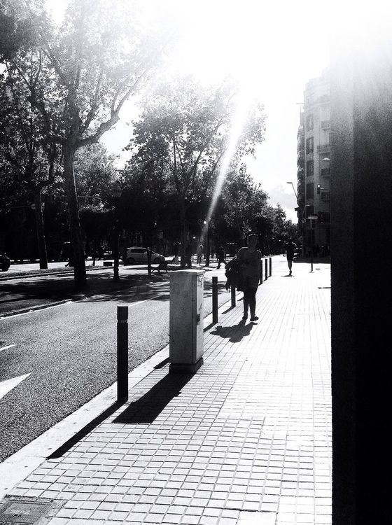streetphotography at Av. Diagonal by mabadca