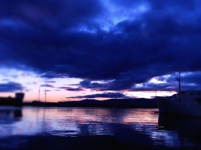 Rijeka.Croatia❤⛵ Rijeka Boats⛵️ Boats And Sea Boat Reflection_collection Reflections In The Water Reflection Boat